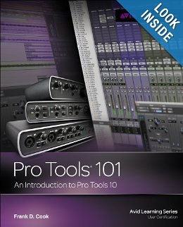 Pro Tools 10 Tutorial Book And DVD