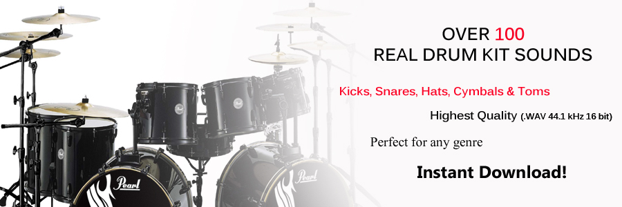 Download Real Sounding Live Drum Kits
