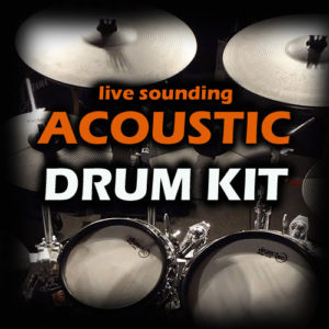 Live Sounding Acoustic Drum Sample Download